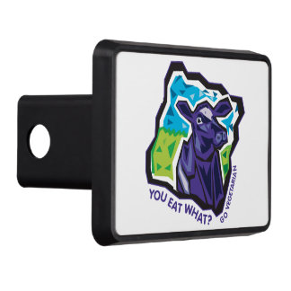 You Eat What? Go Vegetarian Tow Hitch Covers