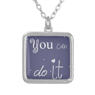 You edge C it Silver Plated Necklace