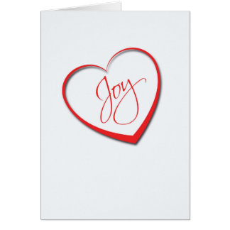 You fill my heart with Joy! Card