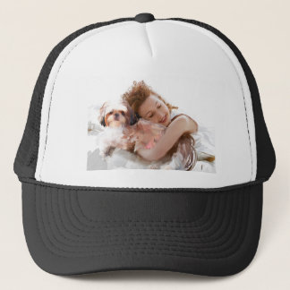 you first have to wake up trucker hat