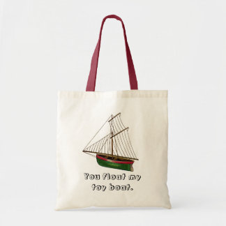 You float my toy boat canvas bags