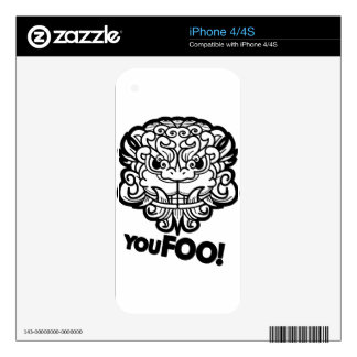 You Foo! Decals For The iPhone 4S