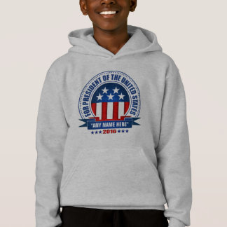 """YOU"" For President 2016 Hoodie"
