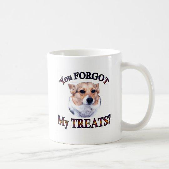 You FORGOT my treats Coffee Mug