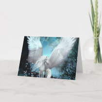 You Gave Me Wings Sparkling Pegasus Card