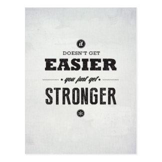 You Get Stronger - Inspirational Postcard