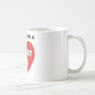 You Give Me A Heart On Coffee Mug