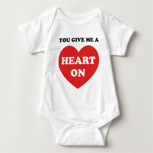 You Give Me A Heart On T Shirts