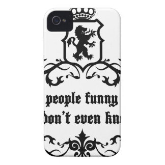 You Give People Funny Moments Medieval quote iPhone 4 Cover