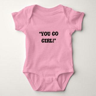 """You Go Girl!"" Baby Bodysuit"