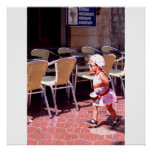 You go girl, Barcelona, Spain Poster