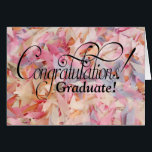 """You Go Girl! Graduation Card<br><div class=""""desc"""">The perfect graduation card for HER!  Features pastel confetti and the fun inside message,  you go girl!  She&#39;ll love it.</div>"""