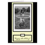 """You go, girl!"" Happy Birthday Card"