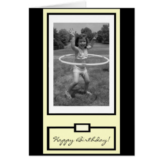 """You go, girl!"" Happy Birthday Greeting Cards"