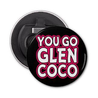 You Go Glen Coco Funny Bottle Opener pink