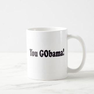 You GObama! Coffee Mugs