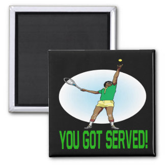 You Got Served 2 Inch Square Magnet