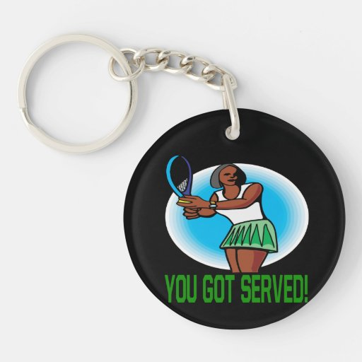 You Got Served 3.png Double-Sided Round Acrylic Keychain
