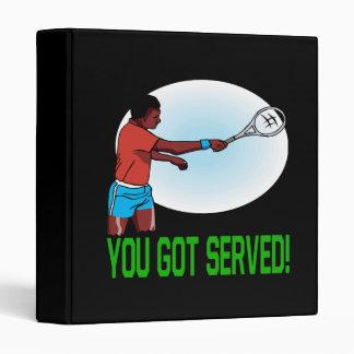 You Got Served 3 Ring Binder