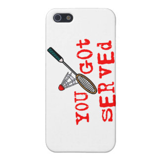 You Got Served Badminton Case For iPhone SE/5/5s