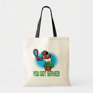 You Got Served Tote Bags