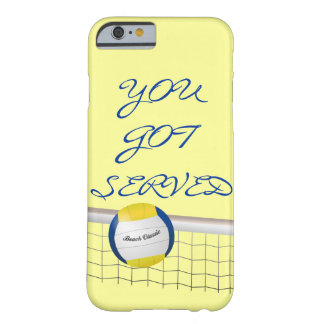YOU GOT SERVED -  BEACH VOLLEYBALL iPhone 6 Case