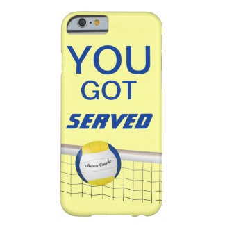 You Got Served Beach Volleyball iPhone 6 case