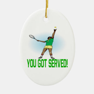You Got Served Christmas Tree Ornaments