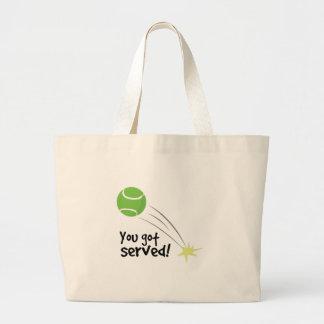 You Got Served Jumbo Tote Bag