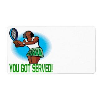 You Got Served Label