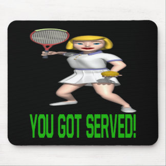 You Got Served Mouse Pad
