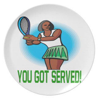 You Got Served Plate