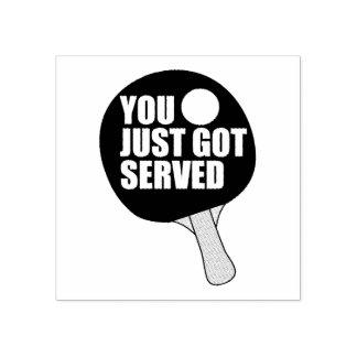 You Got Served Rubber Stamp