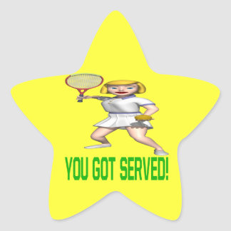You Got Served Star Sticker