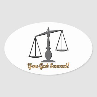 You Got Served! Sticker