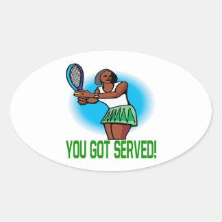 You Got Served Sticker