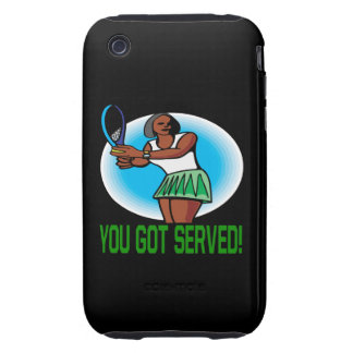 You Got Served Tough iPhone 3 Cover