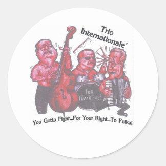 You Gotta Fight... Sticker