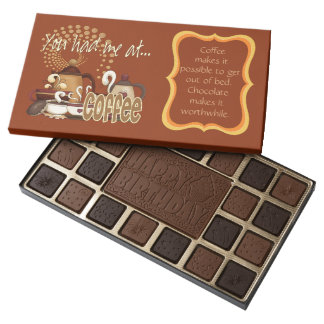 You Had Me At Coffee Assorted Chocolates