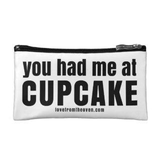 You Had Me At Cupcake Clutch Makeup Bag