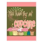 You Had Me At Cupcake Post Card