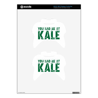 You Had Me At Kale Xbox 360 Controller Decal