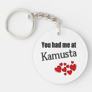 You had me at Kamusta Tagalog Hello Keychain