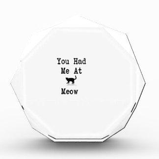 You Had Me At Meow Award