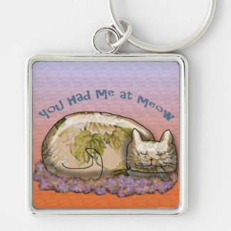 You had me at MEOW Keychain