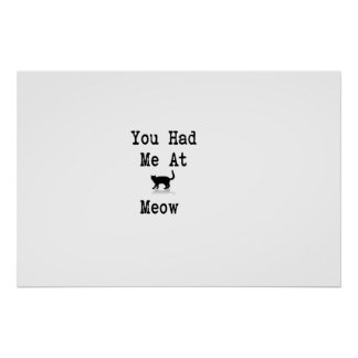 You Had Me At Meow Poster