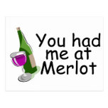 You Had Me At Merlot Postcards