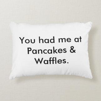 You had me at Pancakes & Waffles Pillow