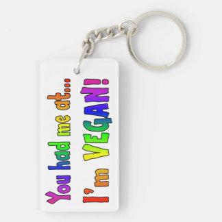 You Had Me At Rainbow Keychain