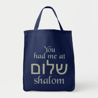 You Had Me at Shalom bags